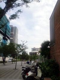 会場の産業技術大学院大学
